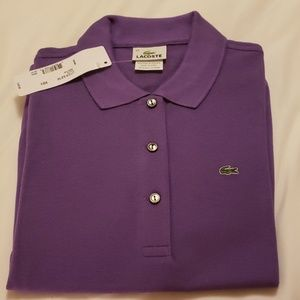 Lacoste NWT classic polo size 8